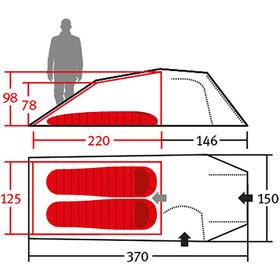 Wechsel Intrepid 2 Zero-G Line Tent winter pear